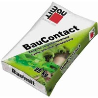 Baumit Bau Contact суміш для приклеювання і захисту утеплювача ППС плит (25кг)