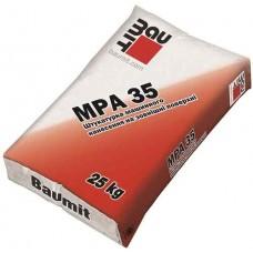 MPA-35 цементно-вапняна штукатурна суміш для зовнішніх робіт (25 кг)