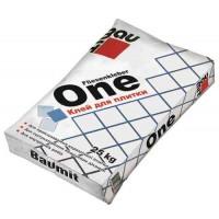 Baumit ONE модифікована суміш для керамічної плитки, клас С1 (25 кг)