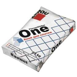 Baumit ONE модифікована суміш, що клеїть для керамічної плитки, клас С1 (25 кг)