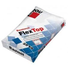 Baumit FlexTop еластична клеюча суміш для приклеювання всіх видів плиток, які піддаються високим навантаженням, клас С2ТЕ S1 (25 кг)