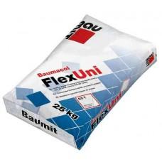 Baumit FlexUni еластична клеюча суміш для приклеювання плитки з природного і штучного каменю, клас С2Т (25 кг)