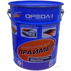 Праймер ОРЕОЛ битумно-каучуковый в таре 20л (17кг)
