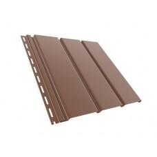 Панель софіт BRYZA коричнева