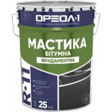 Мастика ОРЕОЛ фундаментна 25кг