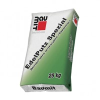 Baumit Edelputz Spezial White фасадна штукатурка 25кг Баранець