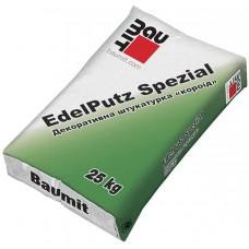 Baumit Edelputz Spezial White фасадна штукатурка 25кг Короїд