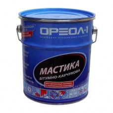 Мастика ОРЕОЛ битумно-каучуковая в мет таре 3кг