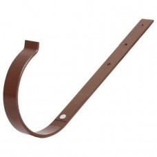 Кронштейн ринви металічний прямий BRYZA 150мм, коричневий