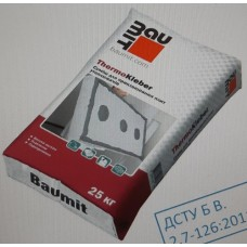 Baumit ThermoKleber для приклеювання МВ, ППС плит (25кг)