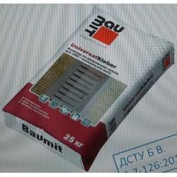 Baumit UniversalKleber клей и армировка для МВ, ППС плит 25кг