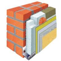 Матеріали для утеплення фасаду пінопластом