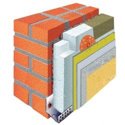 Материалы для утепления фасада пенопластом