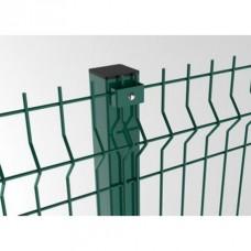Стовп для секційних заборів
